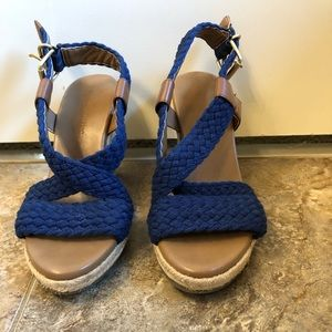 Banana Republic Wedge Sandals